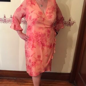 Beautiful cross front 20W dress